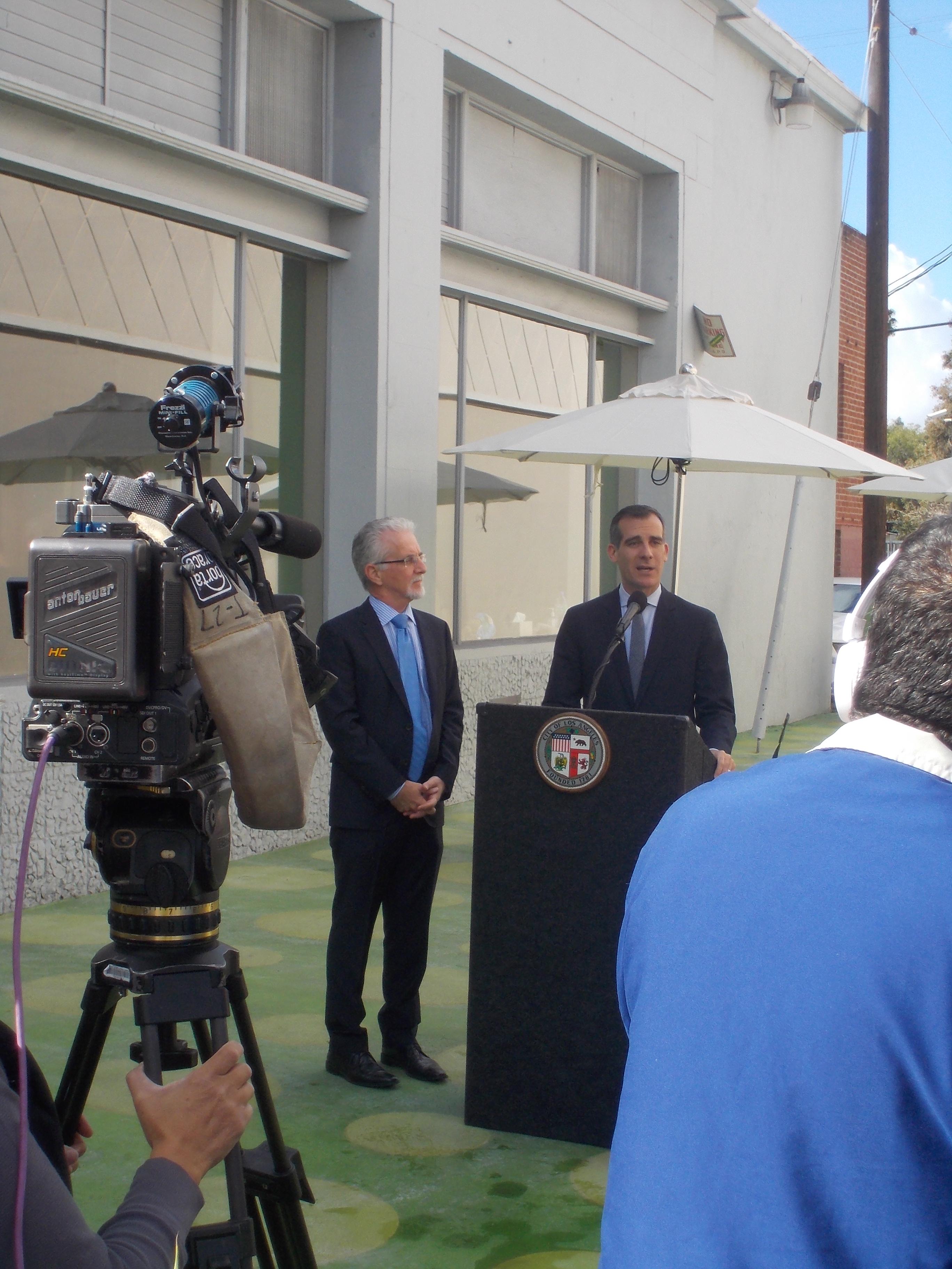 Mayor Garcetti & Councilmember Krekorian