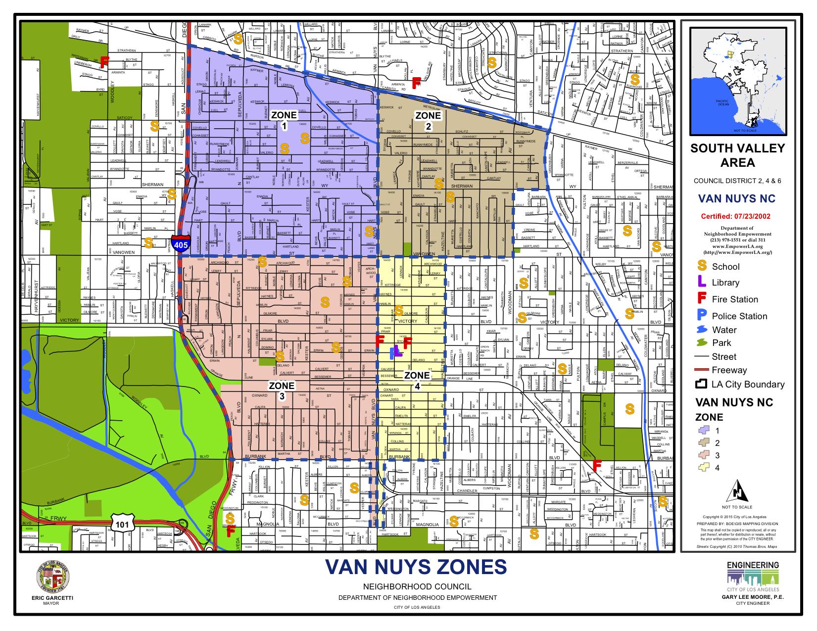 VNNC Boundary Map