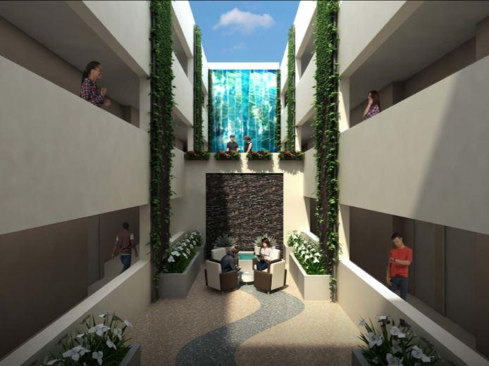 El Cortez Hotel Lobby