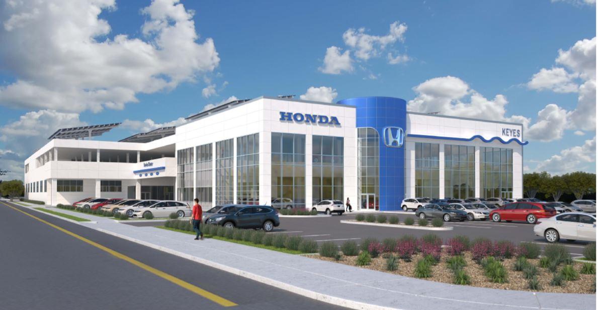 Honda rendering