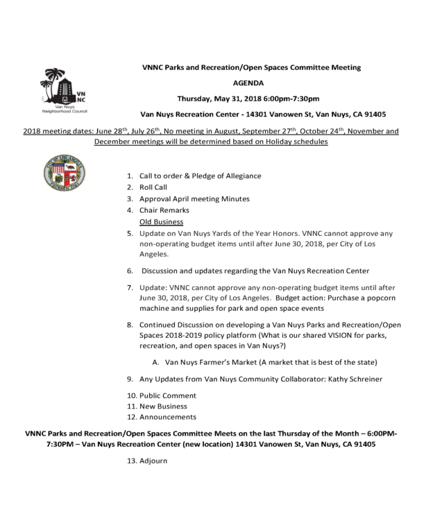 VNNC May 2018 Parks Committee Agenda_Page_1