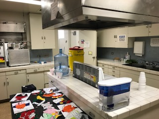 Van Nuys recreation center kitchen