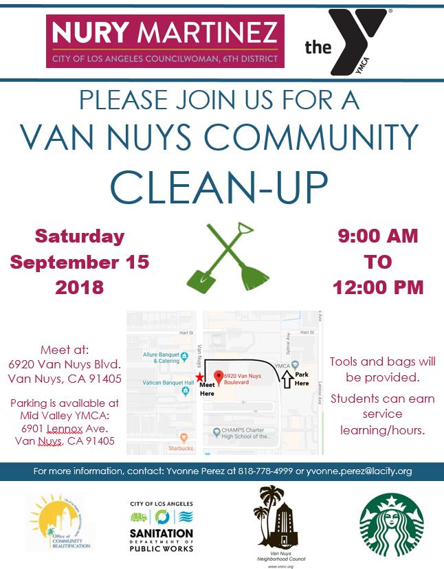 Van Nuys Clean Up