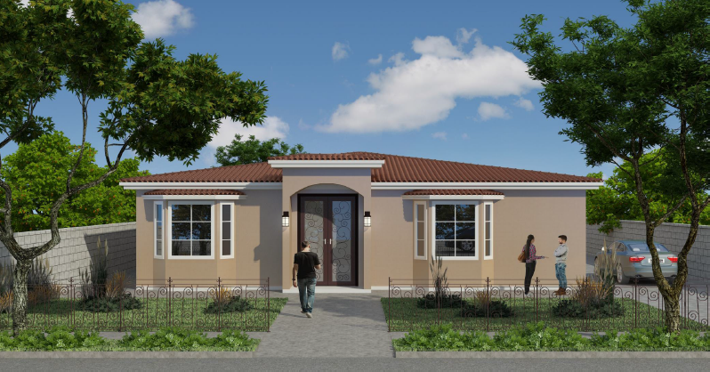 rendering for 6854 Tyrone