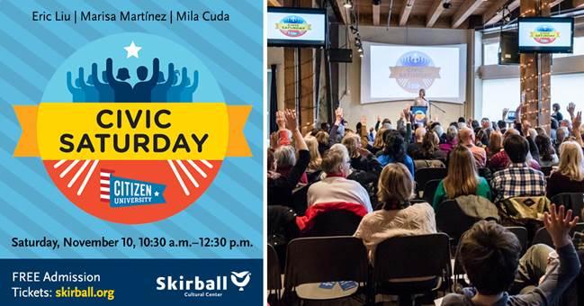 Civic Saturday at the Skirball Center