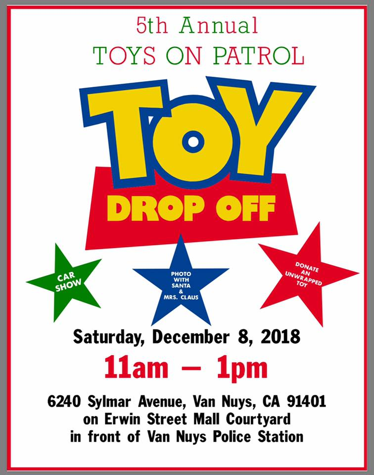 Toy drop off event