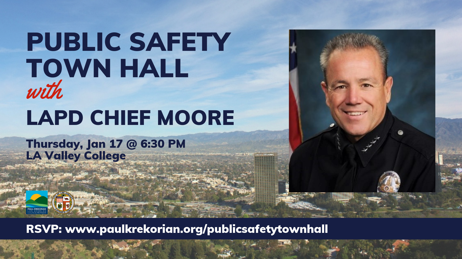 Public Safety Town Hall with Chief Moore