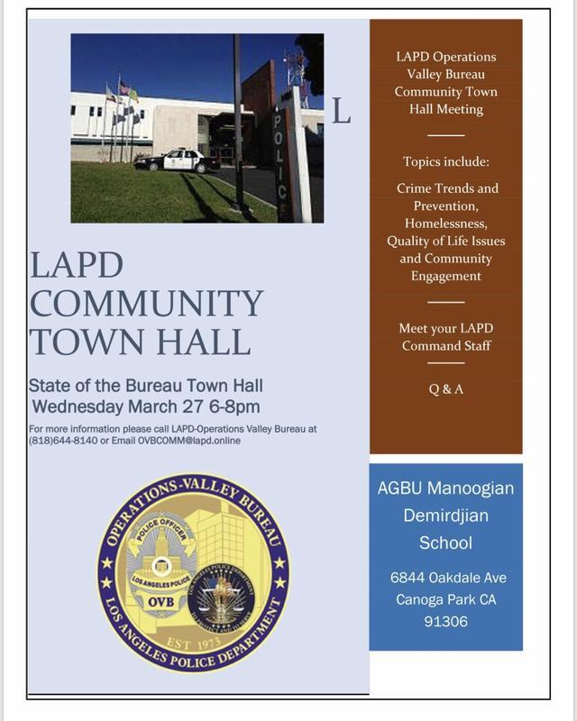 LAPD Community Town Hall