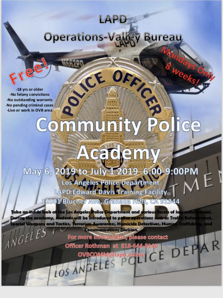 LAPD Community Police Academy