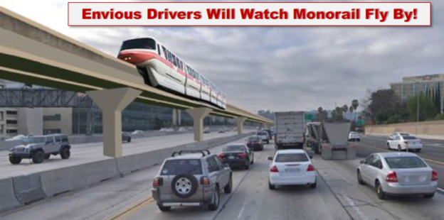 monorail on 405