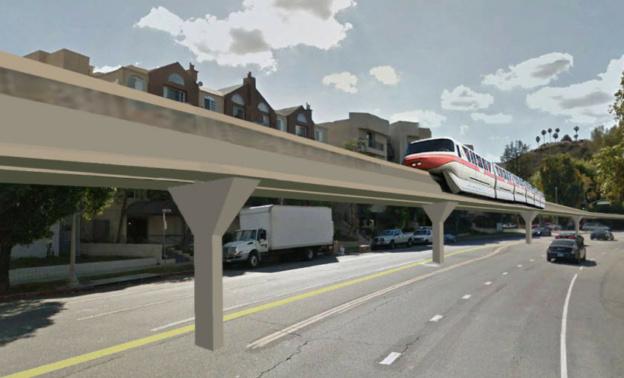 Monorail concept