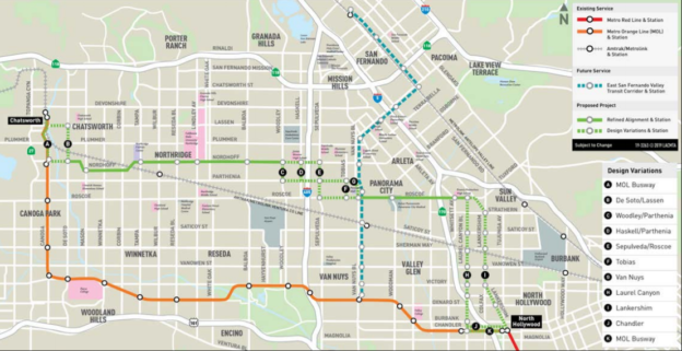 BRT Proposed Route Map