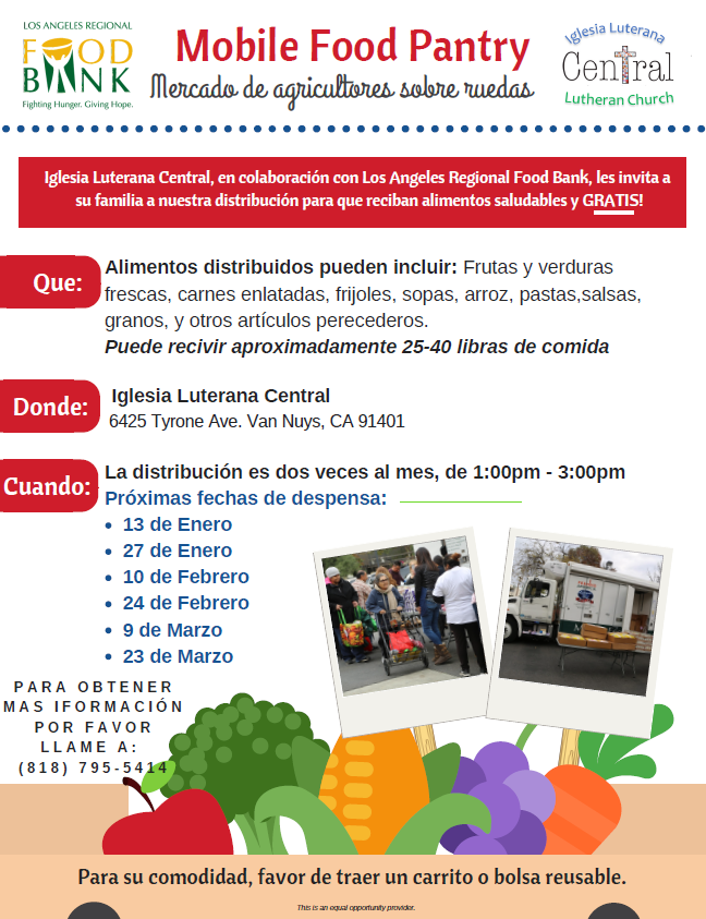 Mobile Food Pantry-spanish