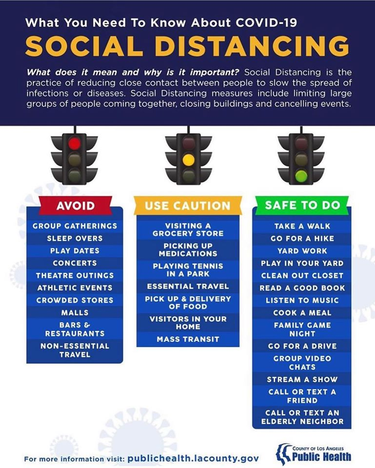 How to social distance