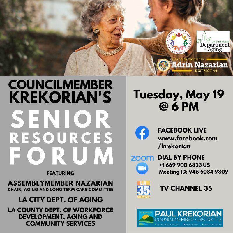Senior resource forum