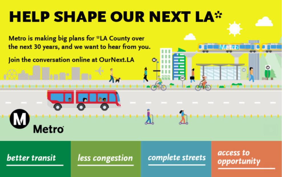 Metro Long Range Transportation Plan Webinar