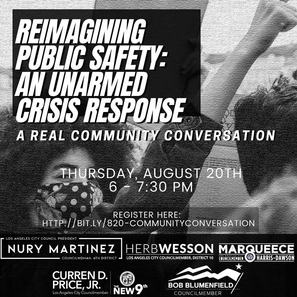 Reimagining Public Safety Conversation