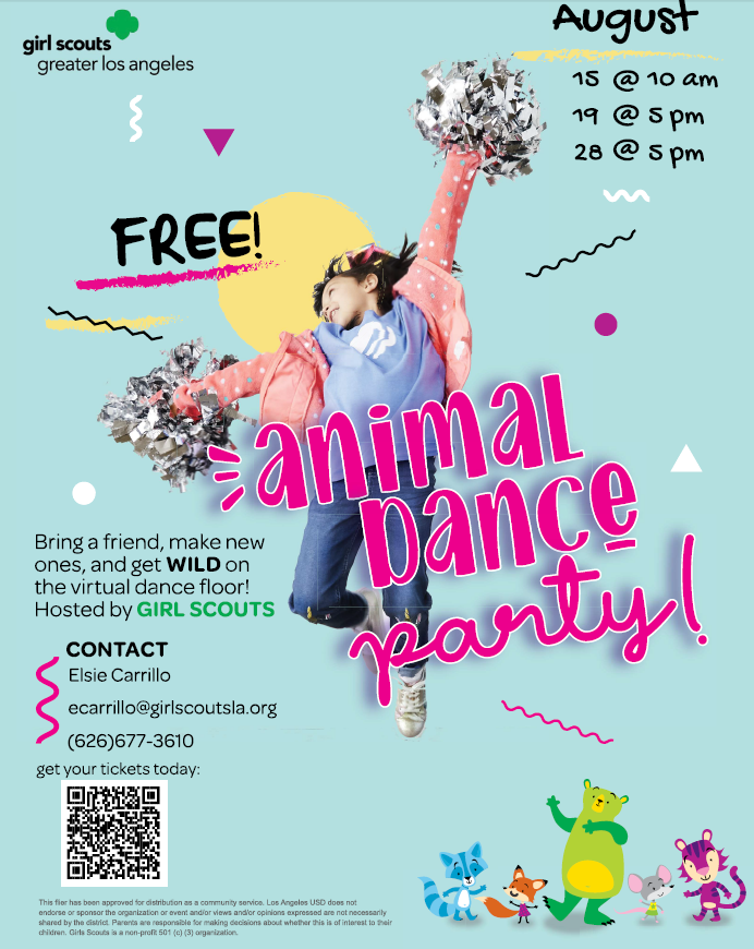 Girl Scouts Animal Dance Party