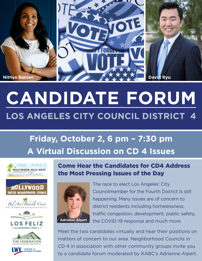 Council District 4 Candidate Forum
