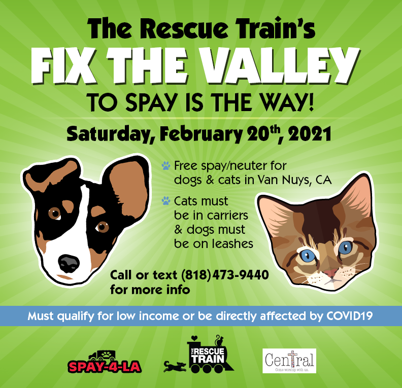 Fix the valley spay event