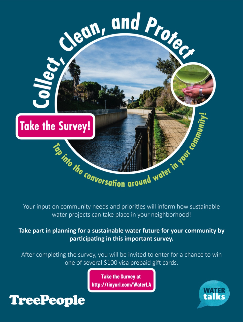 water talks survey