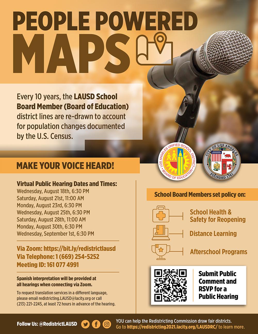 LAUSD Redistricting Public Hearing