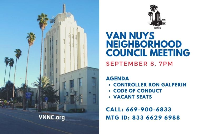 Van Nuys Meeting Notice