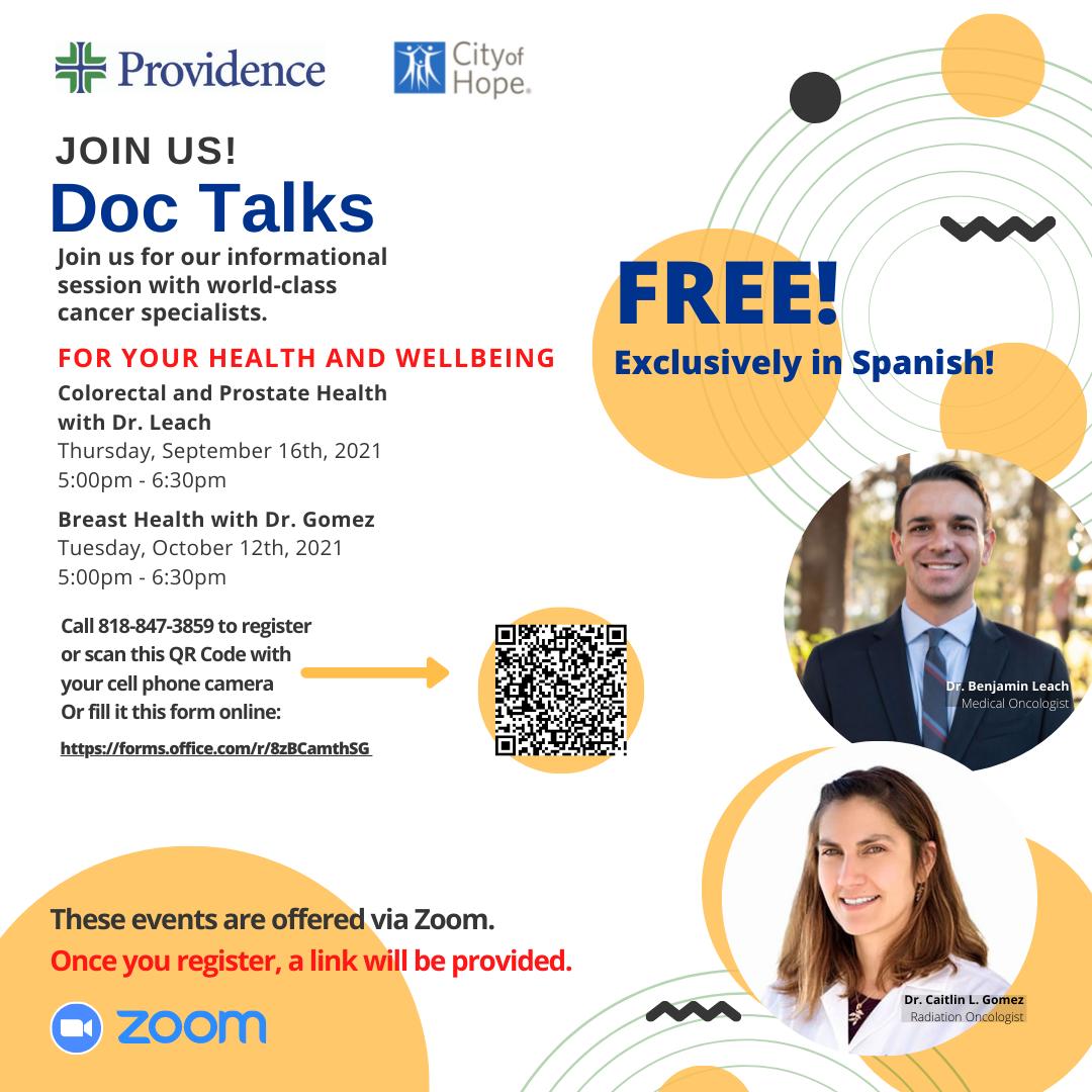 Doc Talks in Spanish
