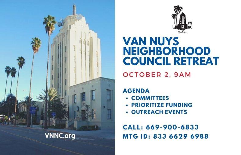 Van Nuys Meeting Notice Retreat