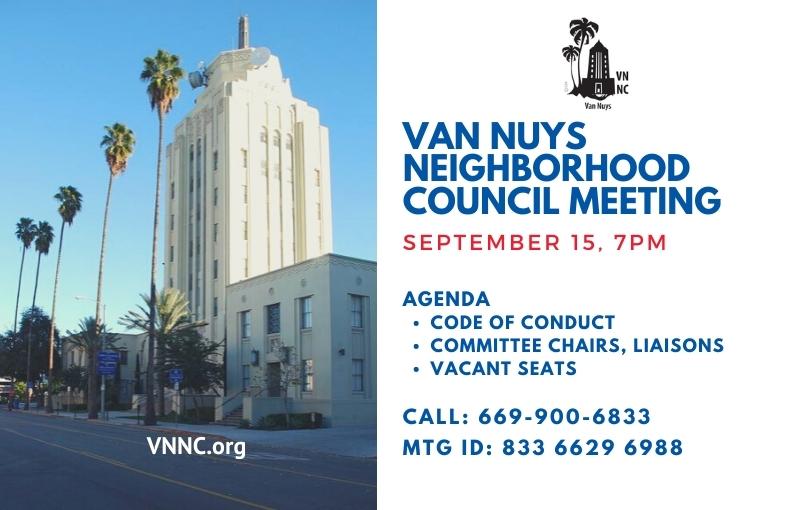 Van Nuys Meeting Notice sep 15