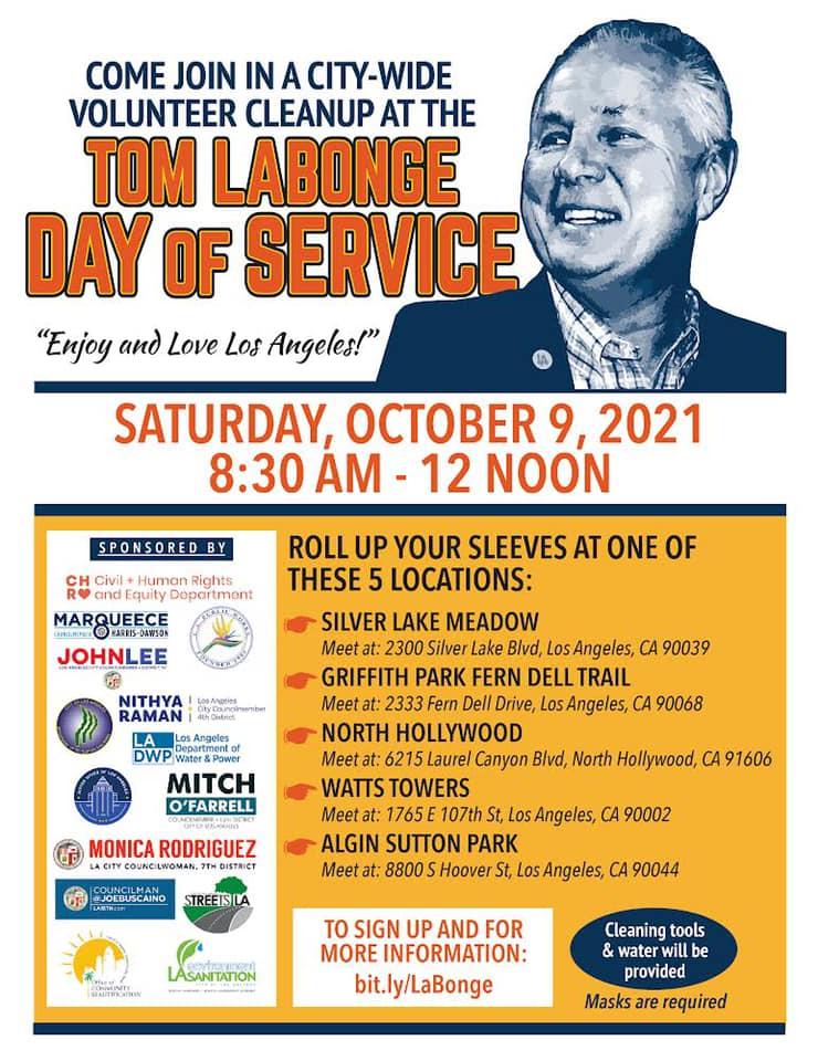 Tom LaBonge Day of Service