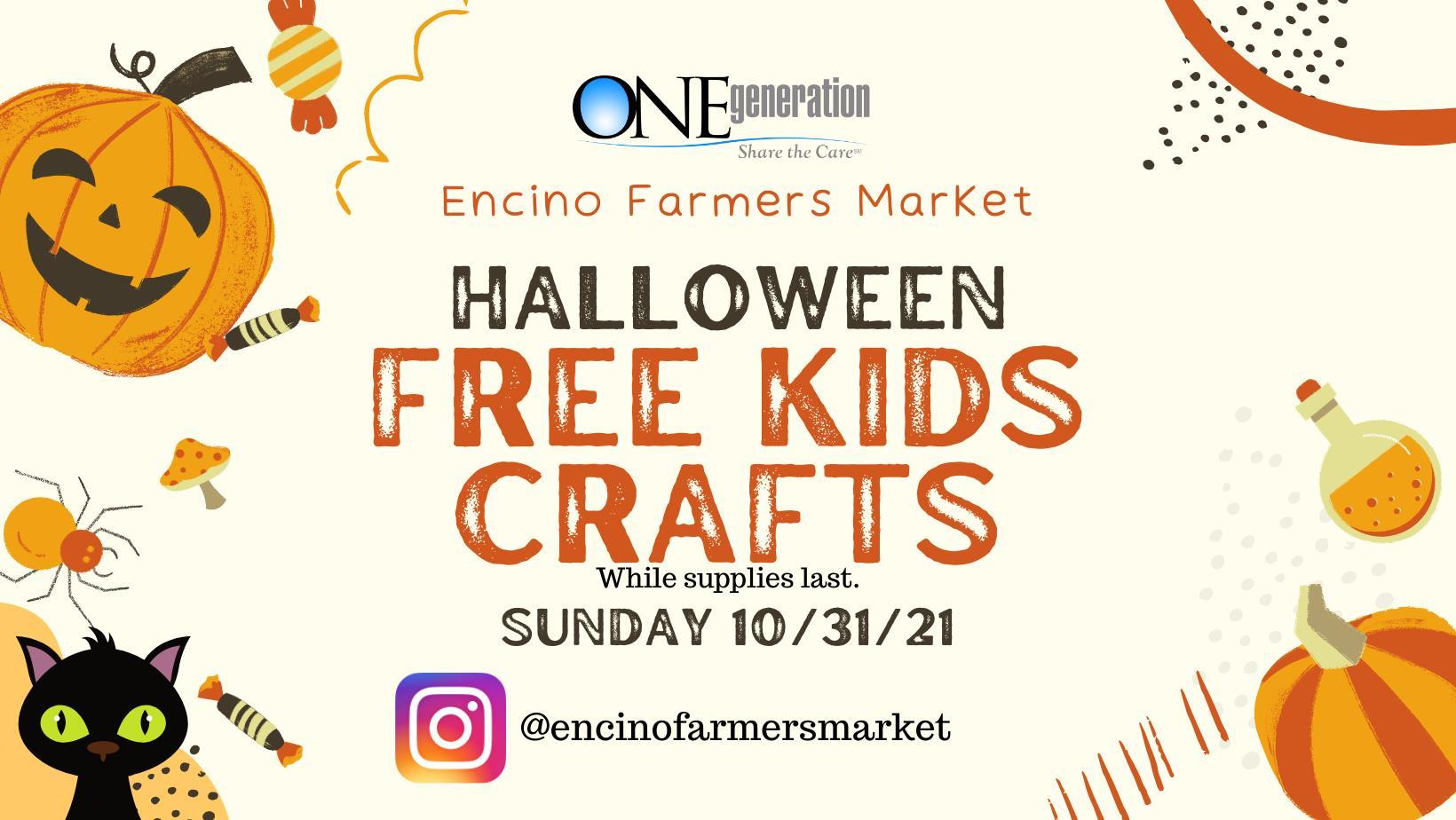 Halloween free kids crafts