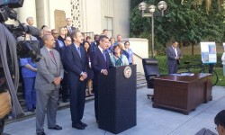 Garcetti's building retrofit ordinance announcement