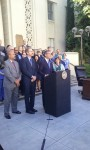 Garcetti's announcement on signing the city's building retrofit ordinance
