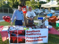 Southern California Preparedness Foundation at North Hills NC BBQ