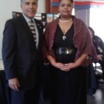 Maria Skelton with US Senator Tony Cardenas