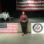 Veteran Day event with VNNC Outreach Committee Board Chair Maria Skelton