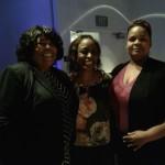 SEIU President Yvonne Walker, Kathy and VNNC board member Maria Skelton